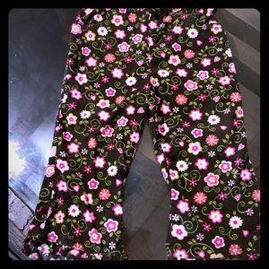 Disney Baby's Brown Ruffle Corduroy Pants